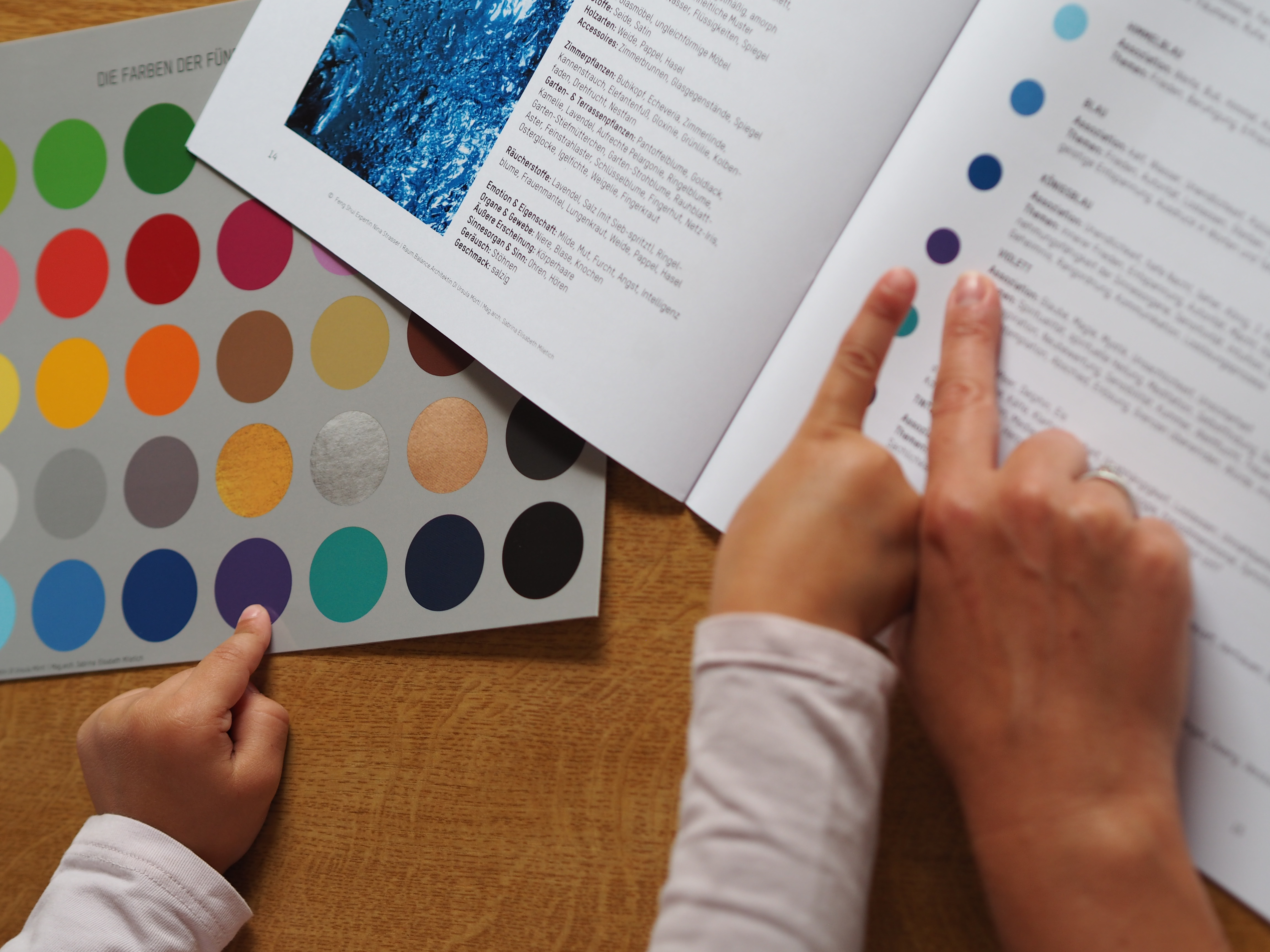 Farben der 5 Elemente